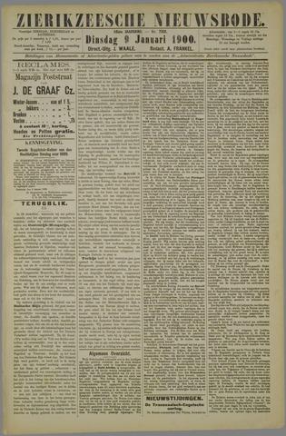 Zierikzeesche Nieuwsbode 1900-01-09