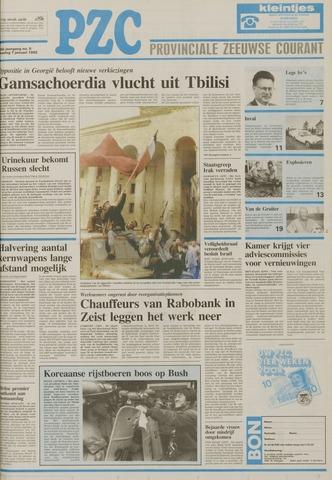 Provinciale Zeeuwse Courant 1992-01-07