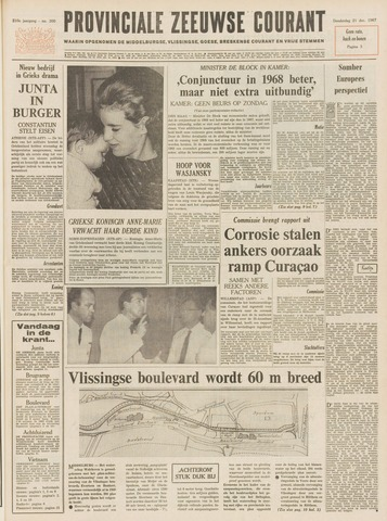 Provinciale Zeeuwse Courant 1967-12-21