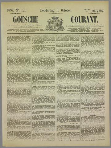 Goessche Courant 1887-10-13