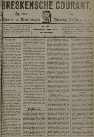 Breskensche Courant 1913-10-15