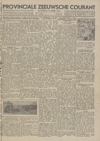 Provinciale Zeeuwse Courant 1943-04-17