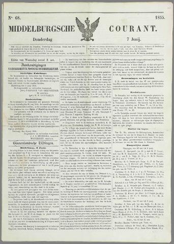 Middelburgsche Courant 1855-06-07