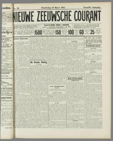 Nieuwe Zeeuwsche Courant 1916-03-16