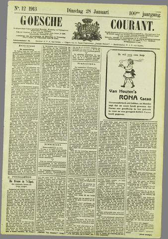 Goessche Courant 1913-01-28