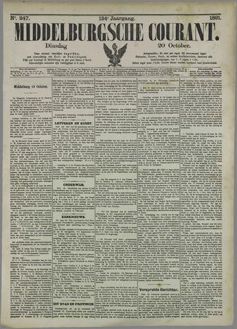 Middelburgsche Courant 1891-10-20