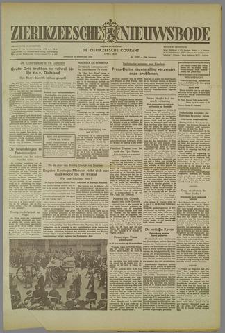 Zierikzeesche Nieuwsbode 1952-02-19