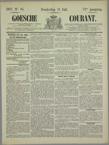 Goessche Courant 1887-07-21