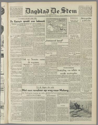 de Stem 1949-01-06