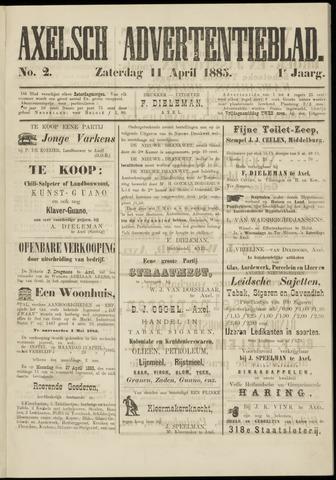 Axelsche Courant 1885-04-11