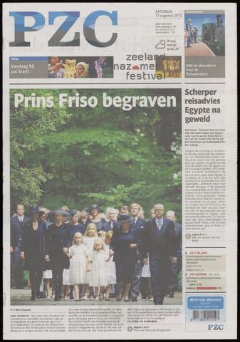 Provinciale Zeeuwse Courant 2013-08-17