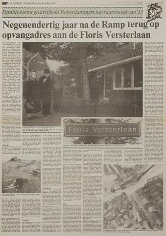 Watersnood documentatie 1953 - kranten 1992-02-06
