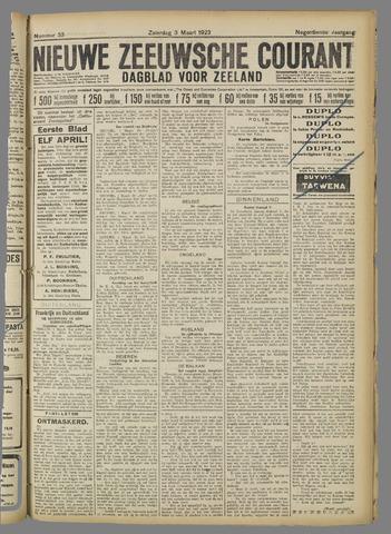 Nieuwe Zeeuwsche Courant 1923-03-03