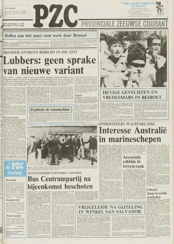 Provinciale Zeeuwse Courant 1984-05-14