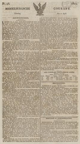 Middelburgsche Courant 1827-04-21