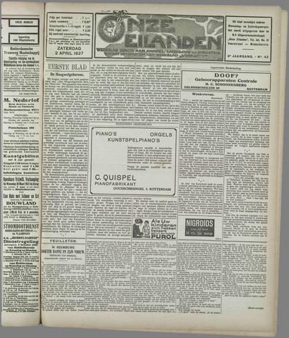 Onze Eilanden 1927-04-02