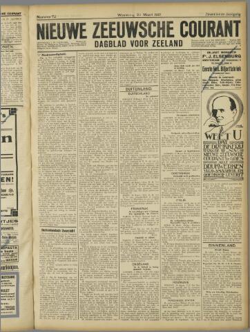 Nieuwe Zeeuwsche Courant 1921-03-30