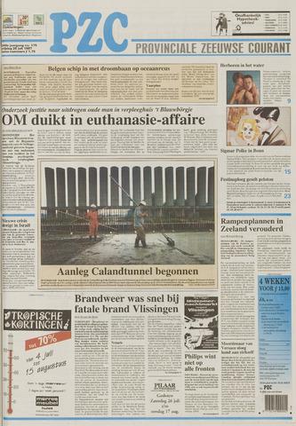 Provinciale Zeeuwse Courant 1997-07-25