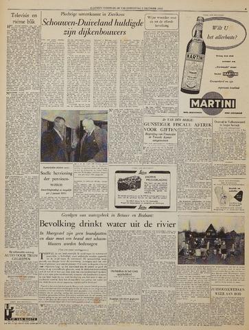 Watersnood documentatie 1953 - kranten 1953-12-03