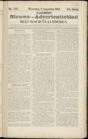 Ter Neuzensche Courant. Algemeen Nieuws- en Advertentieblad voor Zeeuwsch-Vlaanderen / Neuzensche Courant ... (idem) / (Algemeen) nieuws en advertentieblad voor Zeeuwsch-Vlaanderen 1865-08-09