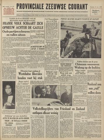 Provinciale Zeeuwse Courant 1962-11-19