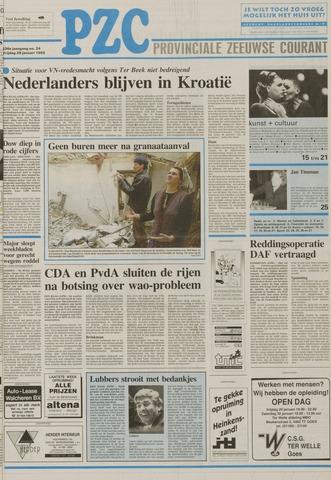Provinciale Zeeuwse Courant 1993-01-29