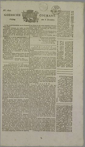 Goessche Courant 1822-12-06