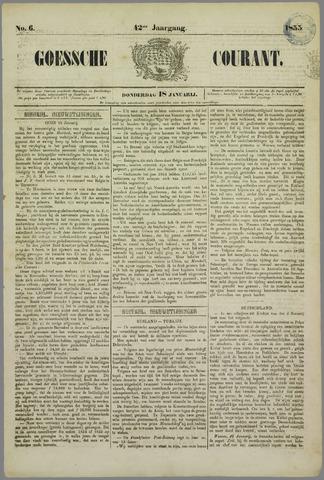 Goessche Courant 1855-01-18