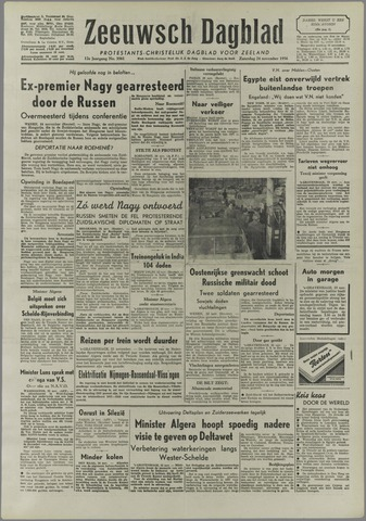 Zeeuwsch Dagblad 1956-11-24