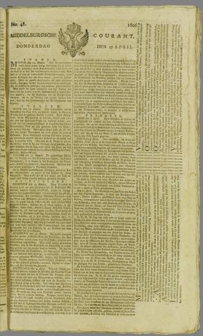 Middelburgsche Courant 1806-04-17