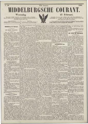 Middelburgsche Courant 1901-02-27