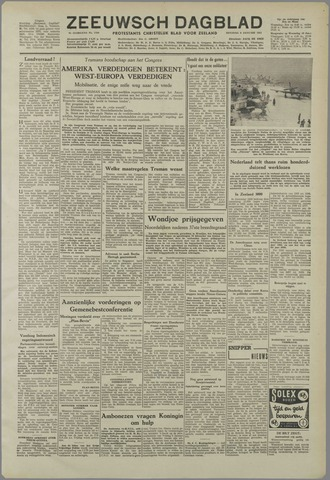 Zeeuwsch Dagblad 1951-01-09