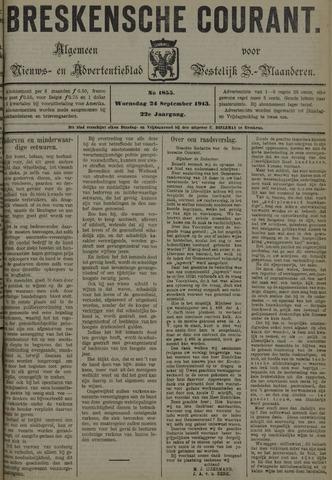 Breskensche Courant 1913-09-24