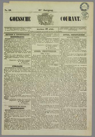 Goessche Courant 1854-04-10