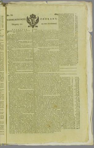 Middelburgsche Courant 1809-07-11