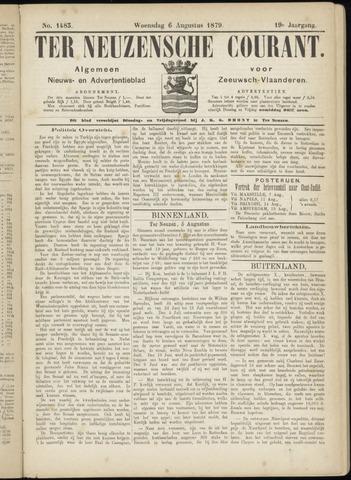 Ter Neuzensche Courant. Algemeen Nieuws- en Advertentieblad voor Zeeuwsch-Vlaanderen / Neuzensche Courant ... (idem) / (Algemeen) nieuws en advertentieblad voor Zeeuwsch-Vlaanderen 1879-08-06