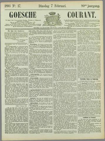 Goessche Courant 1893-02-07