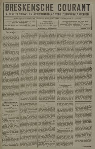 Breskensche Courant 1923-08-22