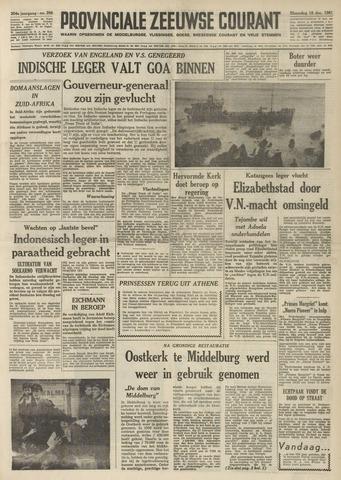 Provinciale Zeeuwse Courant 1961-12-18