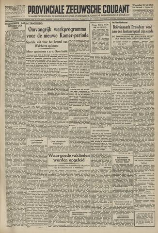 Provinciale Zeeuwse Courant 1946-07-24