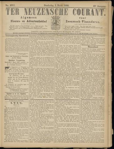 Ter Neuzensche Courant. Algemeen Nieuws- en Advertentieblad voor Zeeuwsch-Vlaanderen / Neuzensche Courant ... (idem) / (Algemeen) nieuws en advertentieblad voor Zeeuwsch-Vlaanderen 1900-03-01