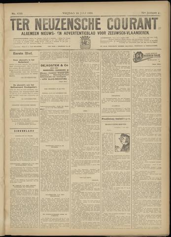 Ter Neuzensche Courant. Algemeen Nieuws- en Advertentieblad voor Zeeuwsch-Vlaanderen / Neuzensche Courant ... (idem) / (Algemeen) nieuws en advertentieblad voor Zeeuwsch-Vlaanderen 1931-07-10