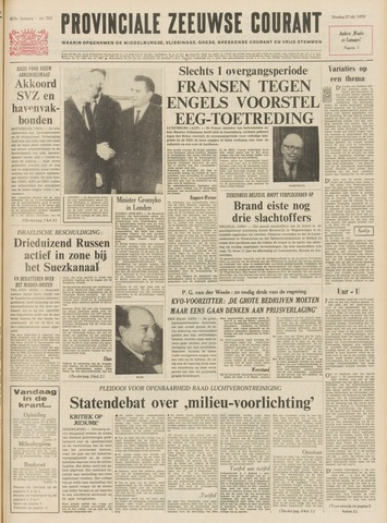 Provinciale Zeeuwse Courant 1970-10-27