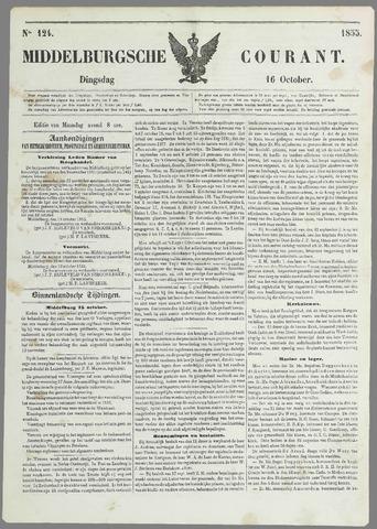 Middelburgsche Courant 1855-10-16