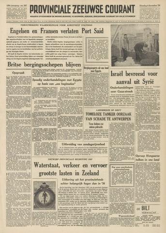 Provinciale Zeeuwse Courant 1956-12-04
