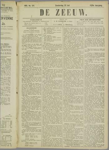De Zeeuw. Christelijk-historisch nieuwsblad voor Zeeland 1891-07-23