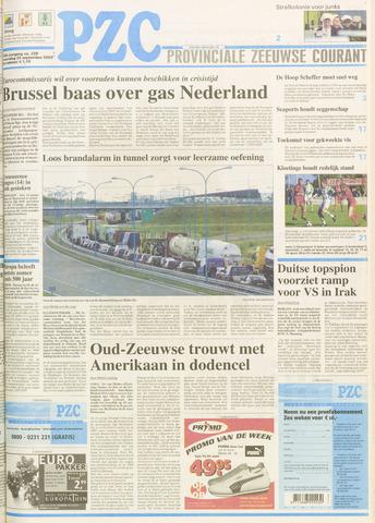 Provinciale Zeeuwse Courant 2003-09-24