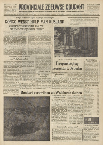 Provinciale Zeeuwse Courant 1960-07-21