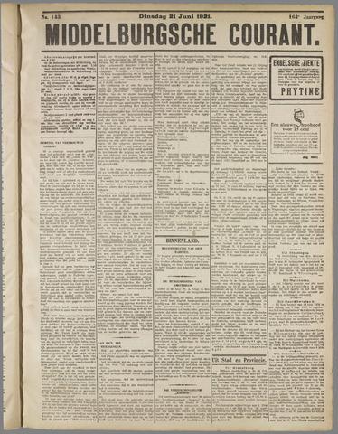 Middelburgsche Courant 1921-06-21