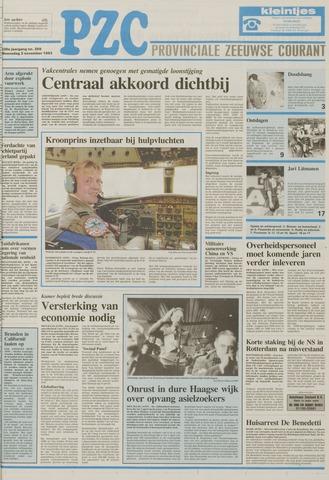 Provinciale Zeeuwse Courant 1993-11-03
